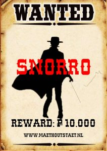 Wanted Snorro Poster